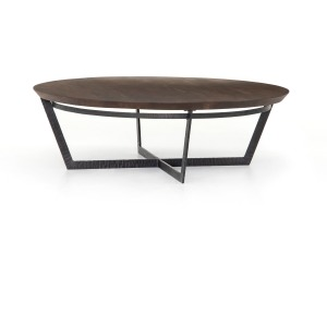 Felix Round Coffee Table - Light Tanner Brown
