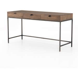 Trey Modular Writing Desk - Auburn Poplar