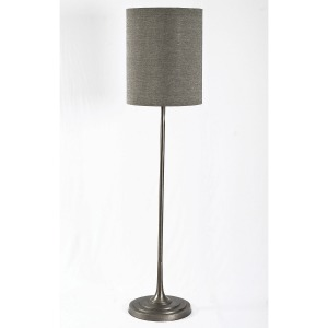 Harlow Floor Lamp-Raw Nickel