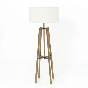 Lewis Floor Lamp-Brass
