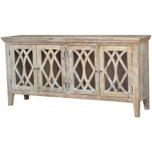 Azalea Sideboard 4 Door-Dogwood