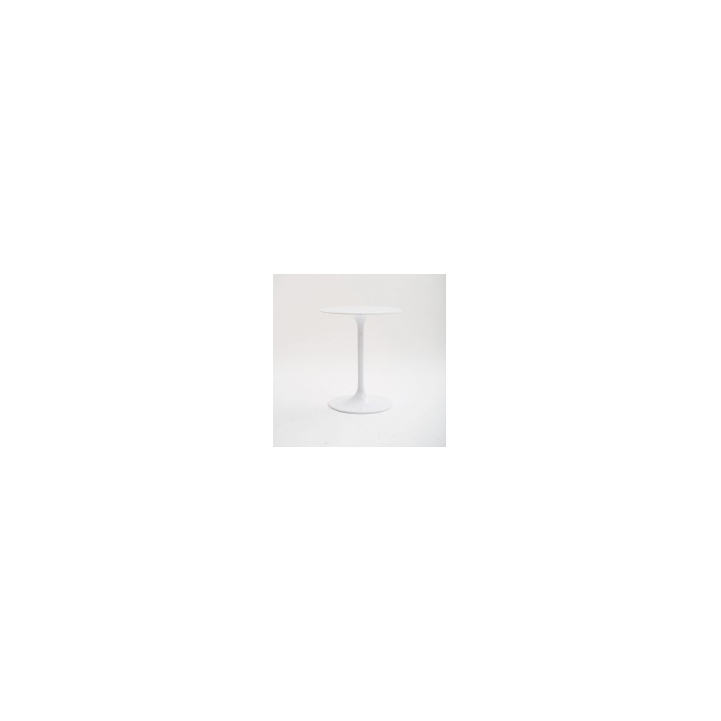 Tulip Side Table-White