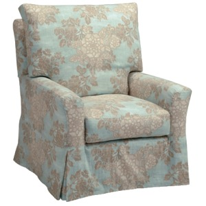Kylee Collection (Topstitch) Swivel Glider
