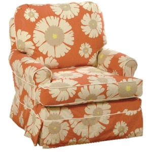 Bella Collection Swivel Glider