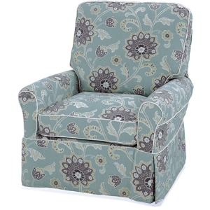 Liza Collection Swivel Glider