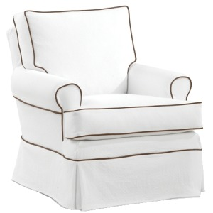 Sarah Collection Swivel Glider