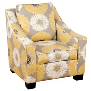Bailey Collection Upholstered Accent Chair