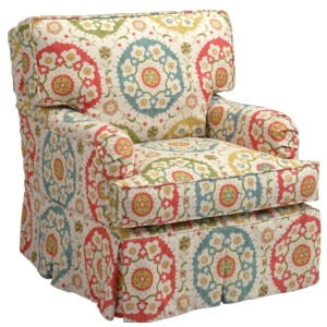 Amber Collection Swivel Glider