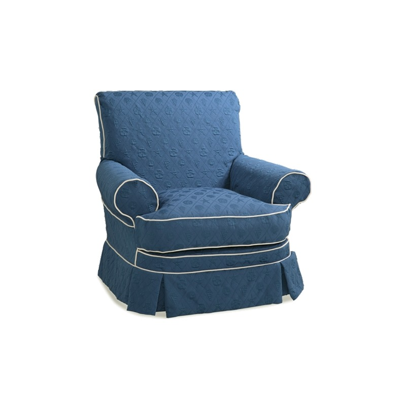 Maggie Collection Accent Glider