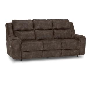 Huxley Dual Power Reclining Sofa w/ USB - Jericho Earth
