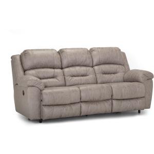 Bellamy Manual Reclining Sofa - Cowboy Stone