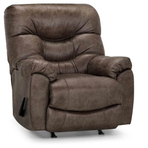 Trilogy Fabric Rocker Recliner - Marshall Mink