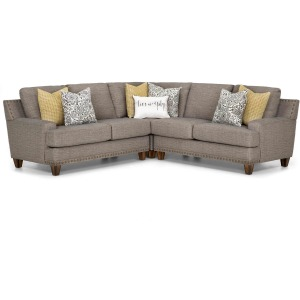 Julienne 3 PC Sectional - Driftwood