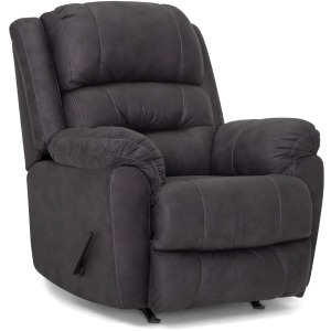 Barstow Fabric Rocker Recliner - Scottsdale Charcoal
