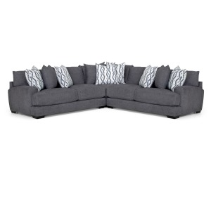 Journey 3 PC Sectional - Merriville Graphite