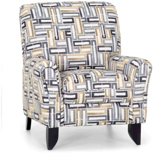 Winslow Pushback Recliner - Take Five Bumblebee