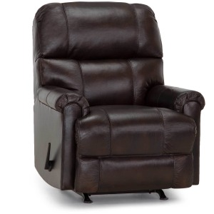 Captain Leather Recliner - Montgomery Java