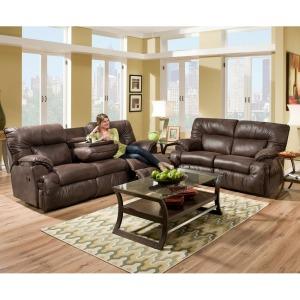 Arizona Reclining Sofa W/Table