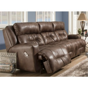 Armstrong Faux Leather Reclining Sofa