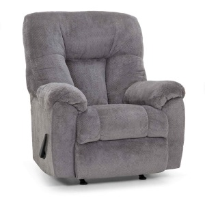 Connery Fabric Rocker Recliner - Earth Slate