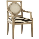 Zebra Arm Chair