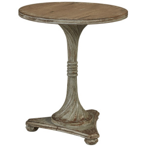 Carved Round Wine Table