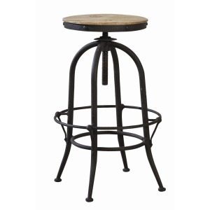Industrial Backless Stool