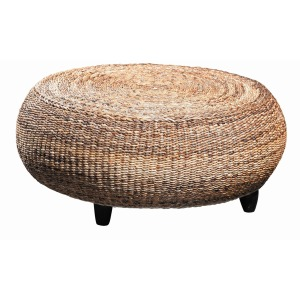 Mandalay Round Ottoman