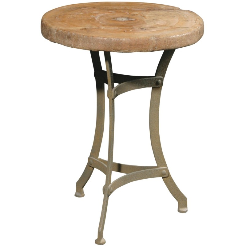 Recycled Tripod Table