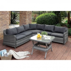 Selina Patio Sectional w/Table
