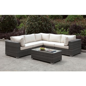 Somani L-Sectional & Coffee Table