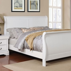 Eugenia King Bed - White