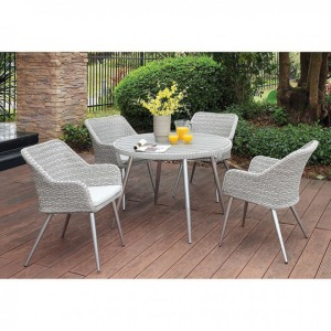 Shivani Round Patio Dining Table