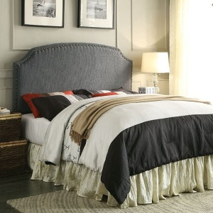 Hasselt King Headboard - Gray