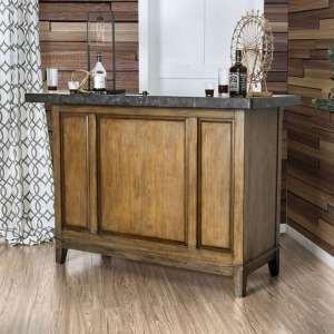 Buchanan Bar Table w/ Celestitle Top