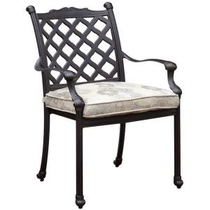 Chiara I Fabric Arm Chair - Set of 4