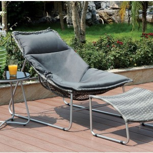 Lili Patio Chair w/Ottoman