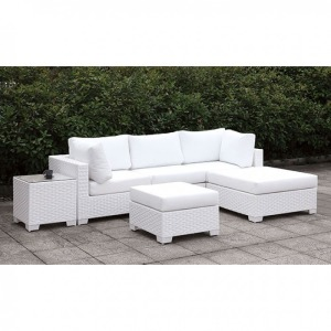 Somani II L-Sectional w/Right Chaise & Ottoman