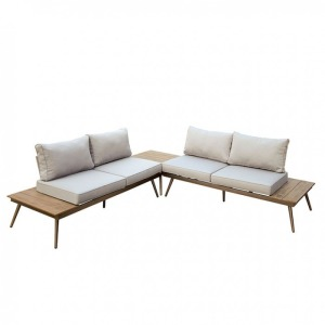 Evita Patio Sectional w/Corner Table