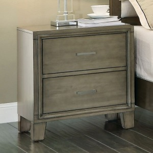 Enrico I Nightstand - Gray