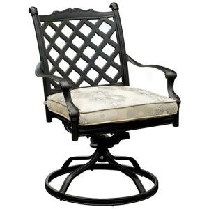 Chiara I Fabric Rocker Chair - Set of 2