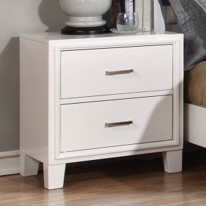 Enrico I Nightstand - White