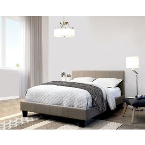 Sims Queen Bed - Gray