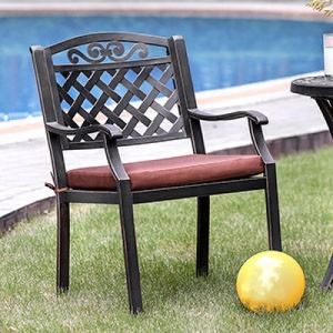 Jessa Patio Arm Chair - Set of 2