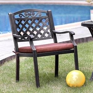 Jessa Patio Arm Chair - Set of 2
