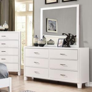 Enrico I Dresser - White