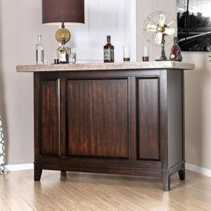 Bismarck Bar Table w/Genuine Marble Top