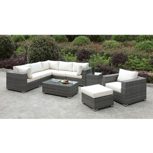 Somani L-Sectional & Chair & Ottoman & Coffee Table