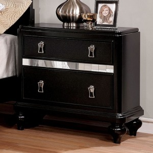 Ariston Nightstand - Black