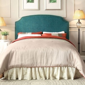 Hasselt King Headboard - Dark Teal